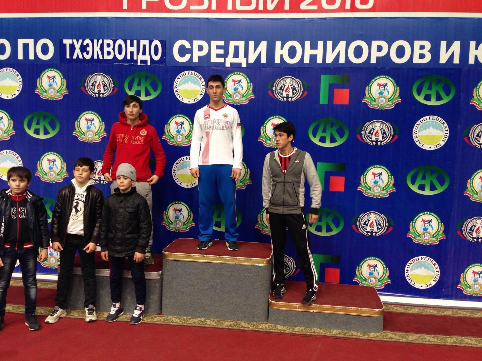 Унажоков Андемир - 1 место до 58кг.